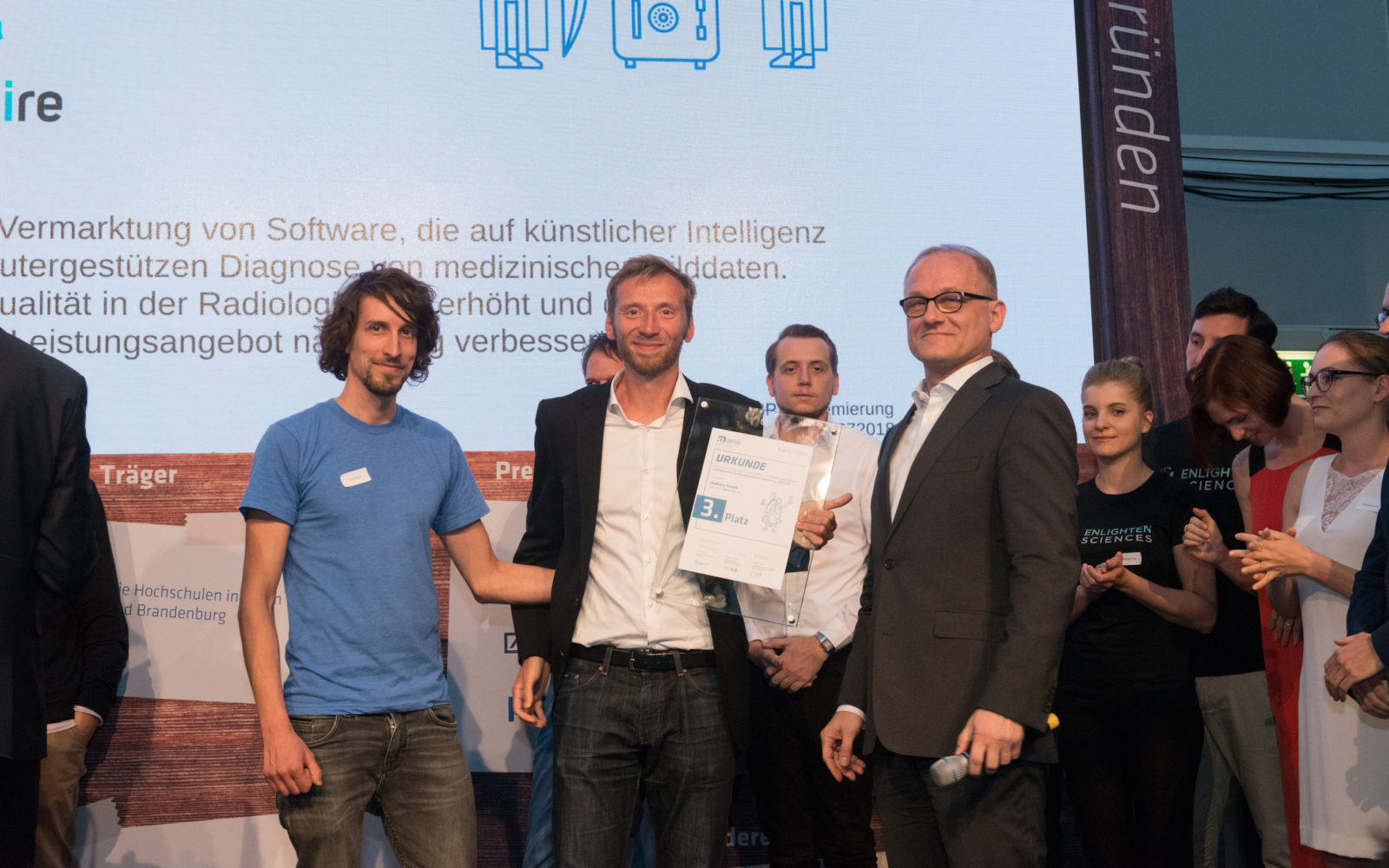 "Laureate of the German contest ""Digital Innovation"""