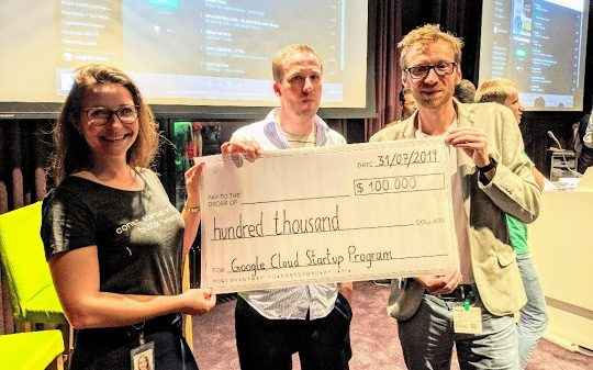 mediaire gewinnt Google Cloud Pitch