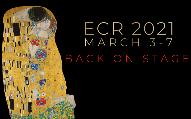 Come and meet us at the all virtual ECR 2021